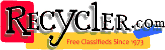 Nobody Does It Better than Recycler Classifieds